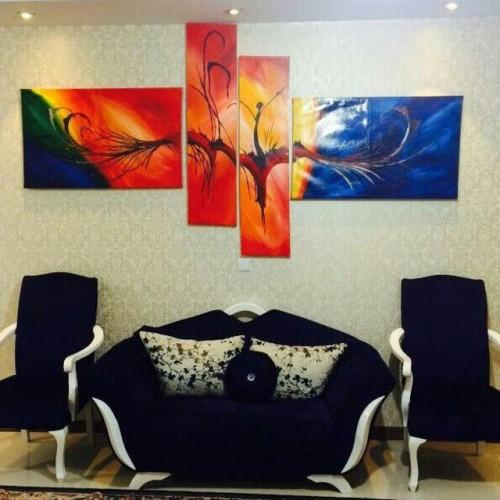 گالری نقاشی های دکوراتیو آیش