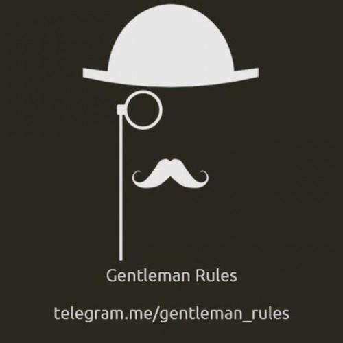 کانال Gentleman Rules