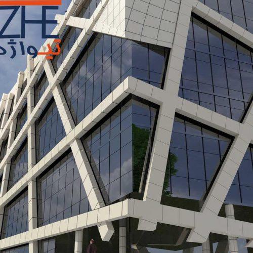 کانال طراح و مجری نمای ساختمان