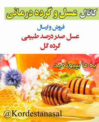 کانال عسل و گرده درمانی