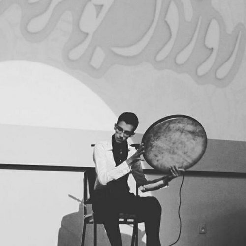 محمد کریمی مدرس دف وسرپرست گروه موسیقی ماهور