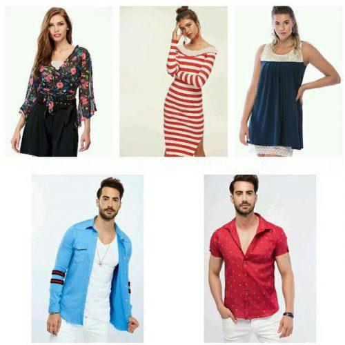 فروشگاه لباس مردانه و زنانه برند