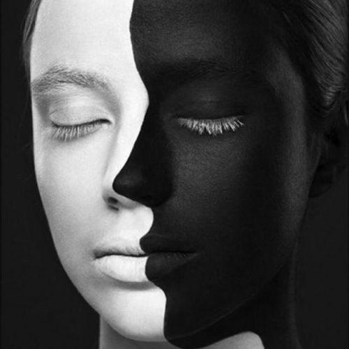 کانال طراحی چهره سیاه قلم