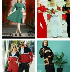 کانال گالری لباس آدرینا