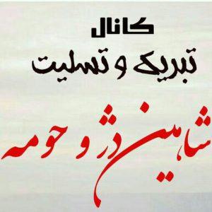 کانال تبریک وتسلیت شاهین دژ