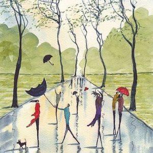کانال شعر های باران خورده