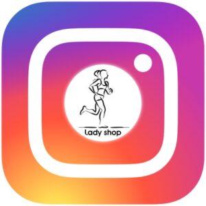 پیج اینستاگرام فروشگاه لیدی شاپ