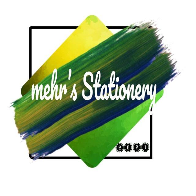 کانال Mehr's stationery