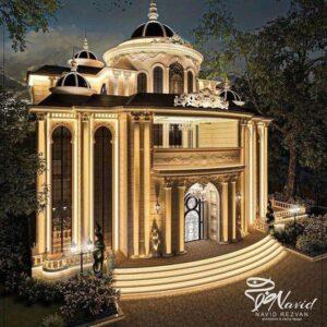 کانال ویلا خونه زمین محوطه سازی لاکچری زیبایی مدرن